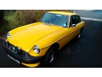 1978 T reg MG B.GT Coupe 1.8L For Sale