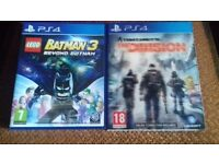 PS4 GAMES FOR SALE / £20 EACH OR SWAPS ARE WELCOME