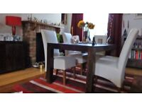 Dakota real Wood Diningtable & Chairs for Sale quest Move