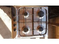 Hotpoint 4 ring gas hob