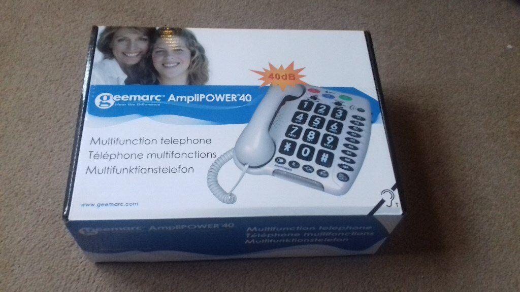 Geemarc Amplipower 40 Multifunction telephone