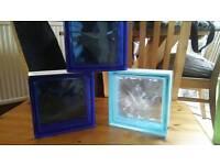 20 Coloured Glass Blocks £1.50 a block