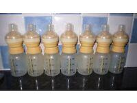Medela Calma Bottles x 7