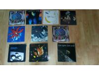10 x the cure vinyl 7 inch singles walk poster sleeve