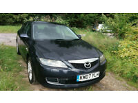 ++++BULLETPROOF MAZDA 6 2007 PLATE AUTOMATIC+++WITH MOT STARTS AND DRIVES GOOD++++