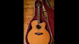 WASHBURN CUMBERLAND ACOUSTIC,HEAR IT NOW! STUDIO USE ONLY , FABULOUS CONDITION FOR YEAR