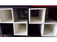 Ikea Expedit Inserts x 2 - excellent condition(Only the insert for sale not the actual expedit unit)