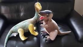 Soft dinosaurs