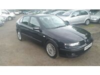 Seat Leon 1.8 5dr, GENUINE LOW MILEAGE, FULL LEATHER INTERIOR, GOOD CONDITION, LONG MOT, MUST SEE