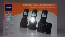 triple digital cordless phones with answering machine