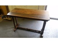 Vintage table shabby chic project rare