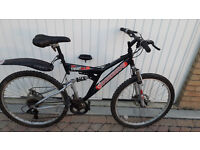 Gents Mountain Bike with front and rear disc brakes £80