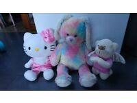 Bundle of soft toys
