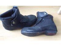 Nitro Street Hopper Motorbike Motorcycle Boots Size UK 11
