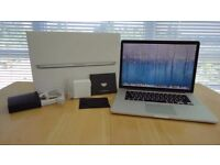 LATEST BOXED MACBOOK PRO RETINA 15 inch, 2.2-3.4Ghz i7, 16gb RAM,SSD,OFFICE 2016,
