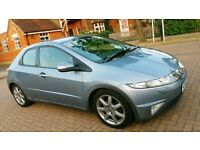 Honda Civic EX 1.8i-VTEC, Long MOT, Full Service, History, Very Good Condition, Nice and clean car