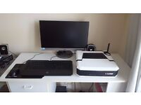 Syber Vapor Gaming PC + Razer Keyboard and mouse