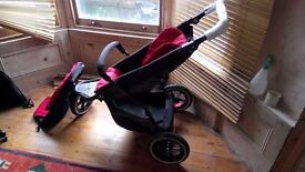 Phil and TEd explorer stroller double seaters for sale
