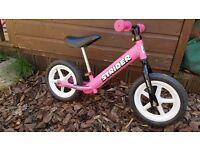 Strider balance bikes childrens Orange & Pink price is for both but separate sale OK