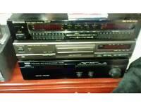 Spectrum Analyser/CD player/Yamaha amp