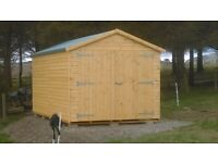 16ft x 9ft Shed