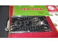 LED SHOP SIGN