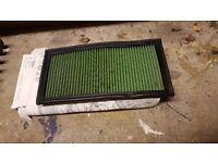 Mk4 golf, leon green panel filter