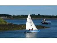 Sailing Yacht, Classic boat, flying 15, Lovely condition, with trailer