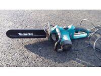 Electric chainsaw makita