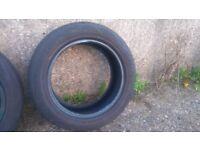 Part worn car tyres