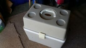 Hot and Cold Cooler Box