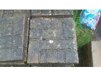 slab 45x45 brick effect i have 68 of them left