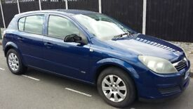 2004 Vauxhall Astra 1.4 i 16v Club 5dr cheap to tax & insure with MOT