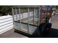 Wessex galvanized trailer 8x5 for sale
