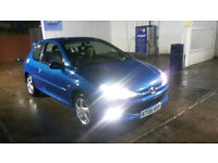 PRICE REDUCED!!! peugeot 206 hdi 1.6 sport 110 bhp