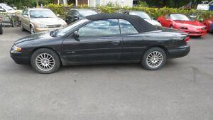 1999 Chrysler Sebring Convertible JXi