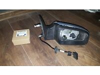 Zafira drivers side replacement wing mirror housing
