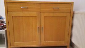 Beautiful brown wooden sideboard/dresser for sale
