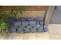 Garden edging bricks