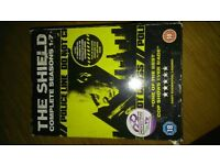 The Shield DvD complete seasons 1-7,best cop show ever made !