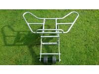 Quad rack with wheelie bar