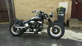Harley softail bobber 1340