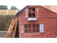 free playhouse , needs attention (Item Sold) No longer available