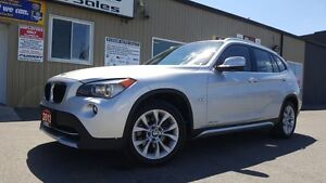 2012 BMW X1 28i-OFF LEASE BMW-PREMIUM PKG-SUNROOF-AWD