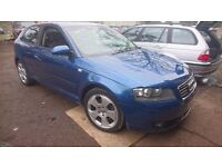 Audi a3 2.0 fsi petrol manual starts and drives needs tlc bargain cheap quick sale spares or repair