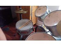 5 piece drum Mapex V series drum kit