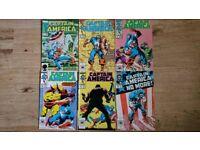 Captain america comic bundle