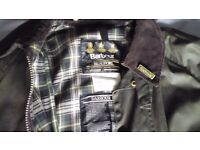 Mens Waxed Barbour Jacket.