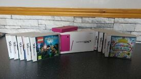 Nintendo DSi + 12 Games All Boxed as new