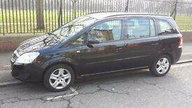 Vauxhaull zafira.7 seaters.2009.diesel.automatic.with PCO lisence expert 07/09/2017